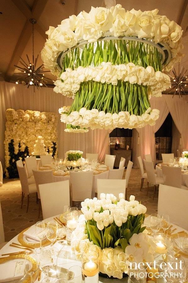 hotel bel-air fairy tale wedding
