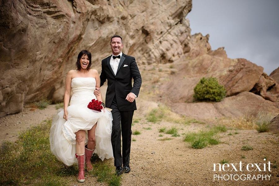 rain wedding photography